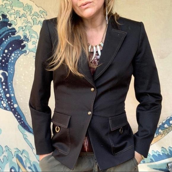 Tahari Jackets & Blazers - Tahari Arthur Levine charcoal blazer 8